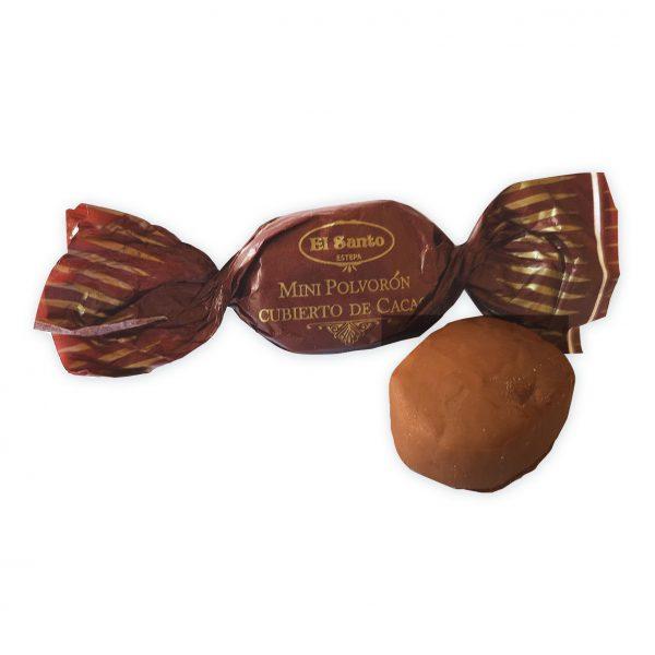 polvoron cacao mini
