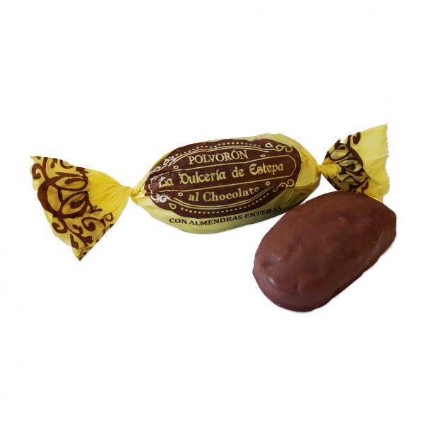 foto almendras enteras cubiertas de chocolate
