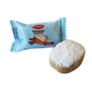 polvoron sin azucar